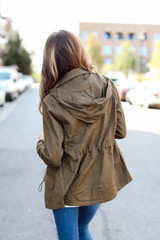 Utility Jacket Back View