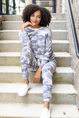 Grey - Camo Joggers from Dress Up