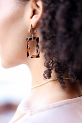 Leopard - Statement Earrings from Dress Up