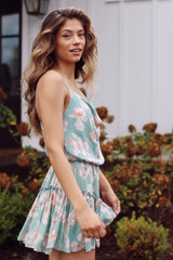 Floral Romper Side View
