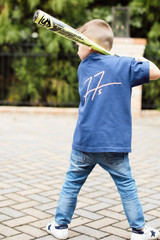 Back View of the Freddie Autograph Little League Tee