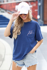 Dress Up model wearing the Freddie Autograph Tee