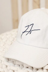 Close Up of the Freddie Autograph Hat