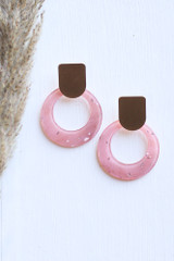Blush - Statement Earrings from Dress Up