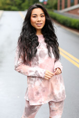 Blush - Oversized Tie-Dye Top from Dress Up