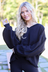Black - Oversized Hoodie from Dress Up