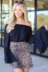 Leopard - Microsuede Skirt from Dress Up