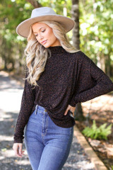 Leopard - Mock Neck Top from Dress Up