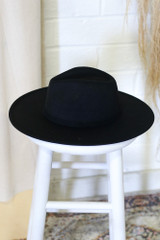 Wide Brim Banded Fedora Hat from Dress Up