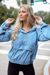 Hooded Denim Pullover from Dress Up