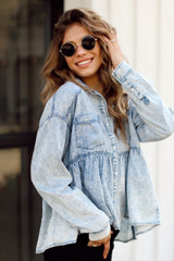 Denim - Babydoll Blouse from Dress Up
