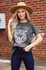 Get 'Em Tiger Graphic Tee Front View