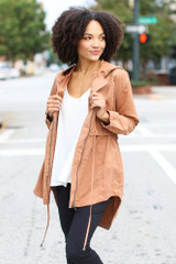 Camel - Utility Jacket from Dress Up