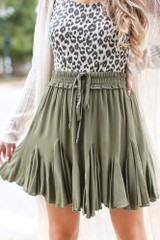 Olive - Swing Skirt from Dress Up