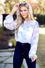 Blush - Tie-Dye Bodysuit from Dress Up