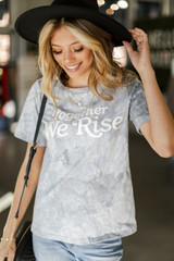 Light Blue - Together We Rise Graphic Tee