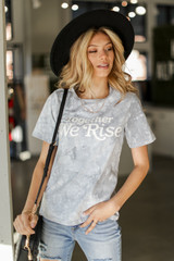 Together We Rise Graphic Tee Front View