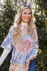 Sage - Oversized Tie-Dye Tee from Dress Up
