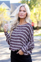 Oversized Striped Sweater from Dress Up