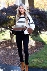 Striped Sweater Full View