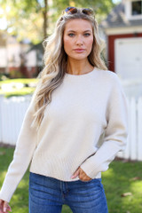 Ivory - Luxe Knit Sweater from Dress Up
