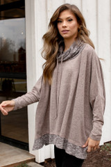 Oversized Brushed Knit Sweater from Dress Up