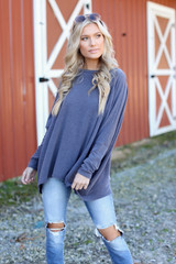 Blaire Oversized Knit Top