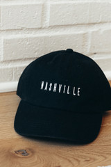 Flat Lay of the Nashville Cap