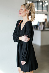 Ruched Dress Side View