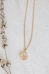 Blush - Flower Necklace from Dress Up