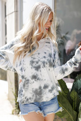 Charcoal - Tie-Dye Hoodie from Dress Up