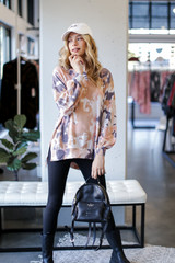 Blush - Oversized Tie-Dye Pullover from Dress Up