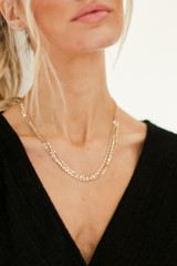 Gold - Layered Necklace