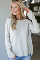 Ivory - Loose Fit Sweater from Dress Up