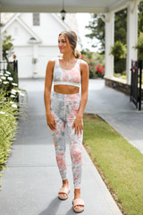 Tie-Dye Leggings from Dress Up Front View