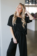 Black - Oversized Top from Dress Up