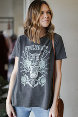 Charcoal - Wildlife Graphic Tee from Dress Up
