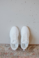 Knit Sneakers Top View
