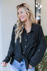Oversized Button-Up Blouse from Dress Up
