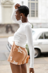 Rust - Star Lounge Shorts from Dress Up