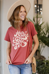 Here Comes the Sun Graphic Tee Front View