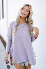 Lavender - Swing Top Front View