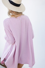 Swing Top in Blush Back View