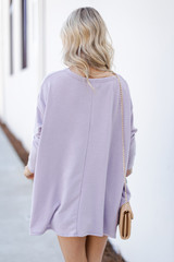 Swing Top in Lavender Back View
