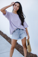 Lavender - Terry Tee from Dress Up