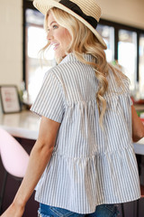 Babydoll Button Up Back View