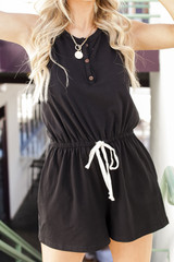 Black - Romper from Dress Up