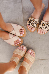 Natural - Pebble Slide Sandals  by MATISSE FOOTWEAR