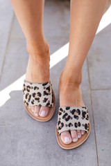 Leopard - Salty Slide Sandals from Dress Up by MATISSE FOOTWEAR