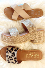 Flat Lay of 3 sandals by MATISSE FOOTWEAR